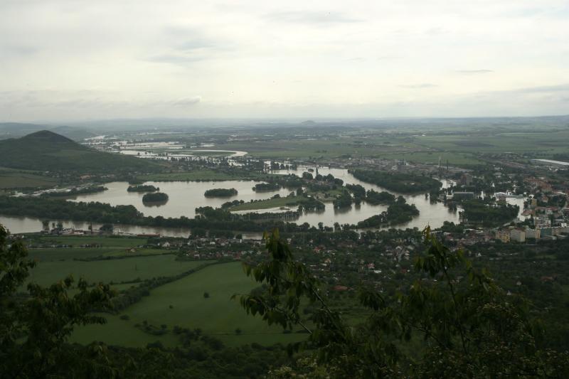 Zaplavené Lovosice 2013