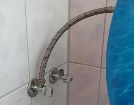 Splachovač přívod dešťové vody