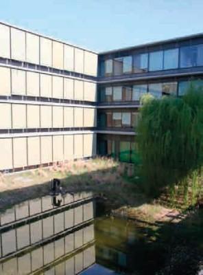 Dešťová voda využívaná k chlazení budovy