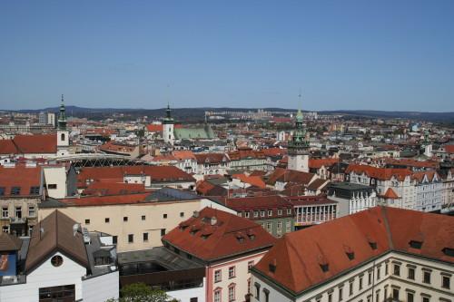 Pohled na centrum Brna. Ilustrační obrázek (Autor fotografie: Veronika Kalníková).