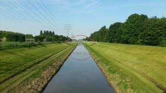 Řeka Emscher protéká silně průmyslovou oblastí. Svést řeku do kanálu se dřív zdálo jako skvělý nápad. Některá práva vyhrazena. Foto   M. Knuth / Flickr