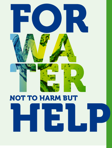 For water